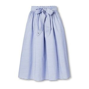Vineyard Vines Navy/white midi skirt